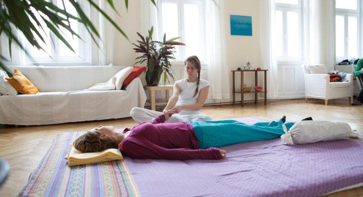 Matte für Shiatsu Massage